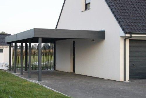 ALU in kovinski nadstreški z ravno streho